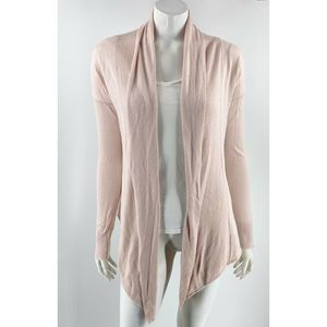 Express Cardigan Sweater Size Small Light Pink